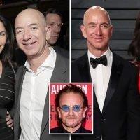 Jeff Bezos 'shared wife's pillow talk' with lover Lauren Sanchez