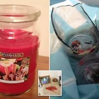 Couple 'ducked for cover when Home Bargains jar candle exploded'