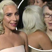 Lady Gaga's hug with Rachel Bloom's 'fangirl' mum goes viral
