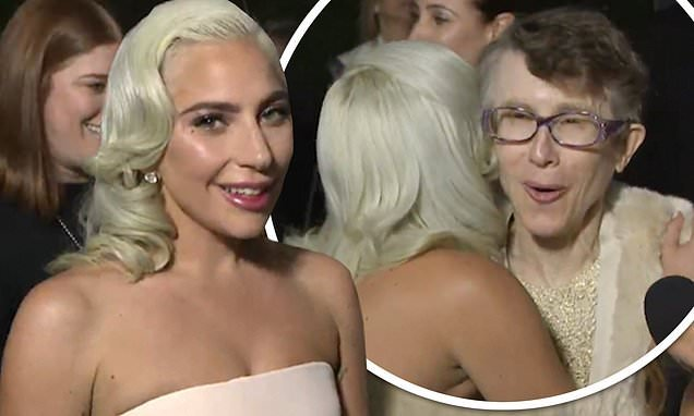 Lady Gaga's hug with Rachel Bloom's 'fangirl' mum goes viral