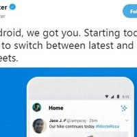 Twitter FINALLY brings back chronological timeline for Android users