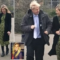 Boris Johnson and lover Carrie seen together for first time as couple
