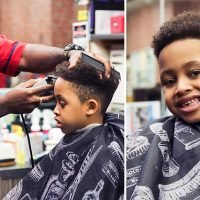 Schoolboy, five, banned from playground for 'extreme hairstyle