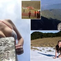 'The Bikini Hiker' who scales mountains in swimwear freezes to death