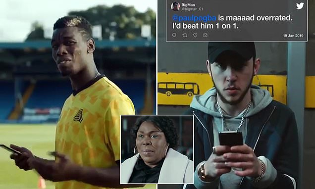 Pogba's mum takes on Twitter trolls as she stars in hilarious advert