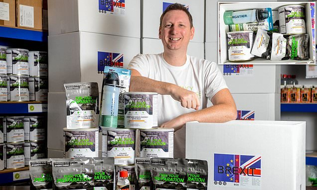 Businessman sells more than 700 'Brexit boxes'