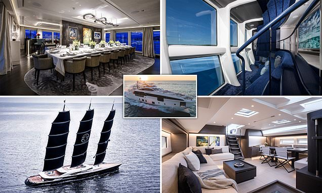The world's best superyachts of 2019 honoured in prestigious awards