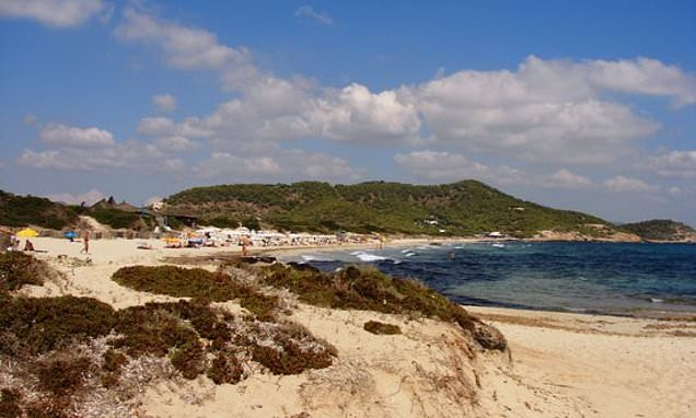 Swingers asked to stop romping on Ibiza beach because of erosion