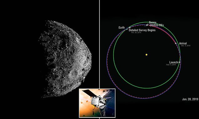 Stunning new photos show asteroid Bennu like never seen before
