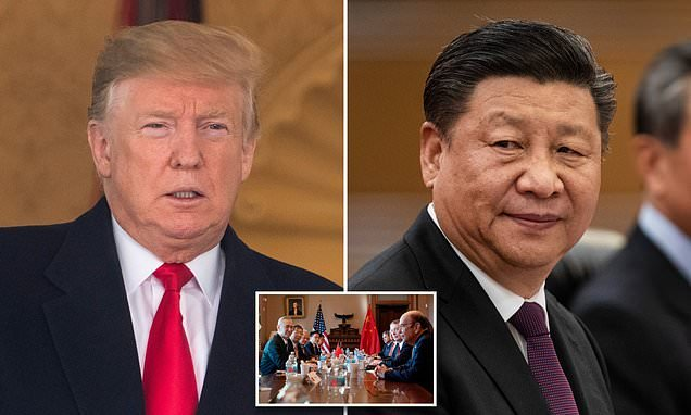 Trump says he's sit down with China's Xi again to discuss trade deal