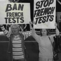 From the Archives: The end of French nuclear testing in South Pacific