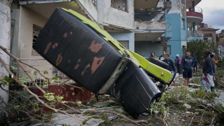 'Like a fireball': Tornado hits Havana, leaving fatalities