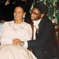 B. Smith's illness was taking a toll on her husband; then he found another love