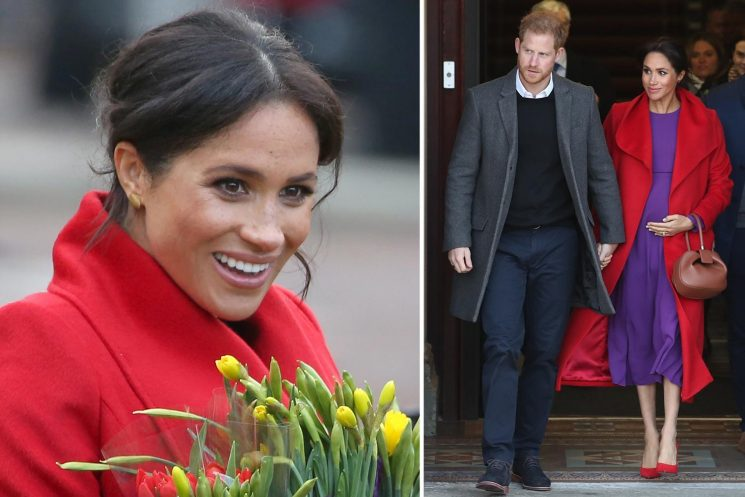 Meghan Markle reveals she likes the name Amy as fans quiz her on royal baby
