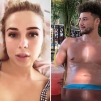 Love Island star Gabby Allen 'almost died' after having allergic reaction to pineapple juice on holiday as she praises Rak-Su boyfriend Myles Stephenson for saving her