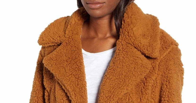 This Shearling Jacket Is the Stylish Topper Our Closet Needs