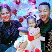 Chrissy Teigen's Daughter Has Hilarious Reaction to Baby Brother's New 'Do