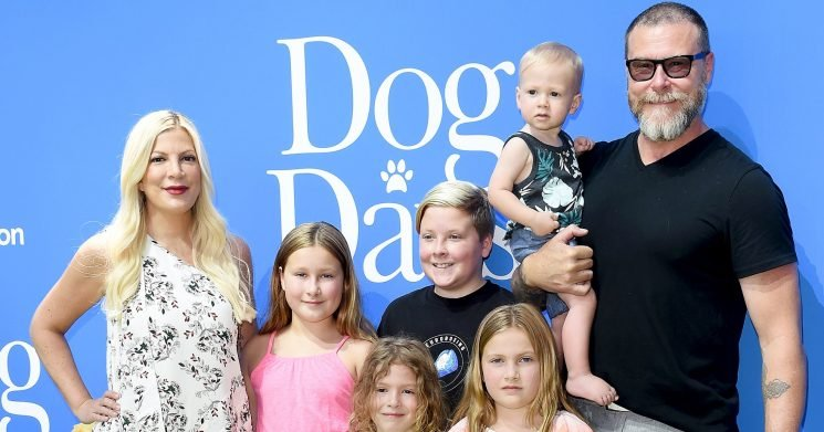 Tori Spelling's Husband Dean Claps Back After Children Are Body-Shamed