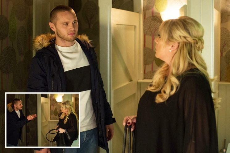 EastEnders spoilers: Sharon Mitchell shocked as Keanu Taylor begs her to take him back in the Vic's toilets