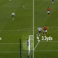 David De Gea's positioning compared to Hugo Lloris proves why the Man Utd star is a 'proper goally'
