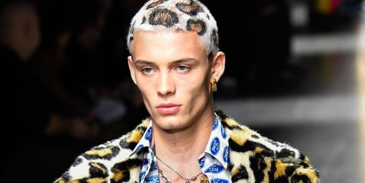 Leopard Print Hair Appears to Be Making a Comeback