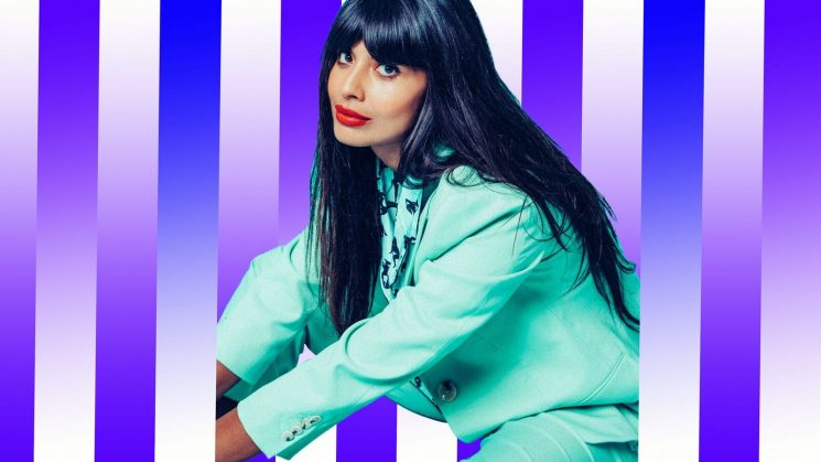 Jameela Jamil Is So Ready for Society to Embrace the 'Mom Bod'