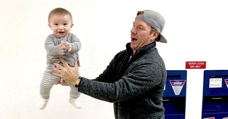 Joanna and Chip Gaines' Baby Crew, 7 Months, Is Already on the Move
