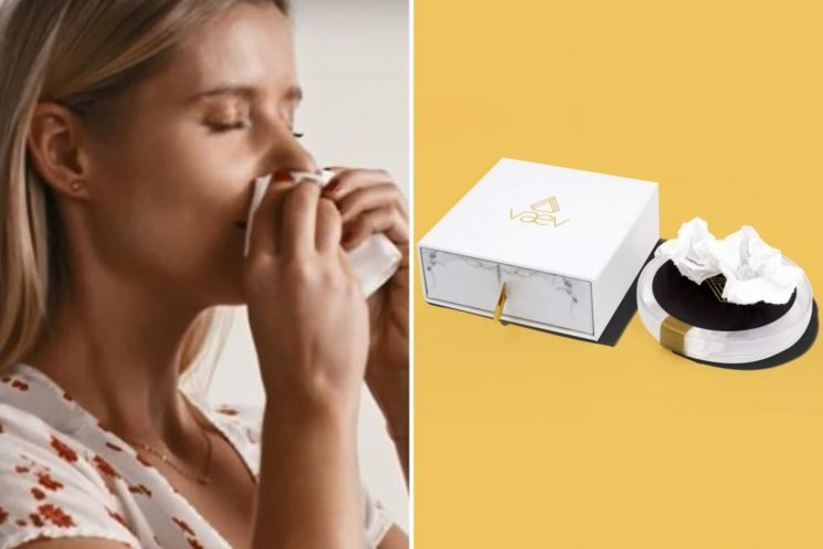 'Disgusting' £62 tissue claims to fight flu by letting you inhale a stranger's SNEEZE