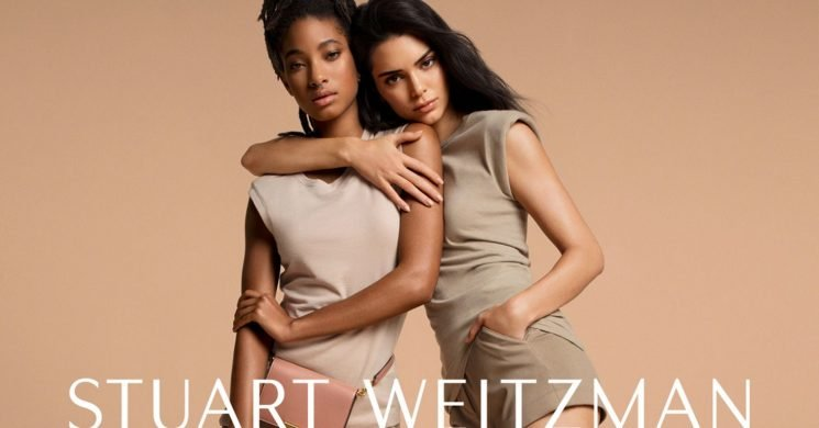 Kendall Jenner and Willow Smith Found a Way to Make Shoes All About Girl Power