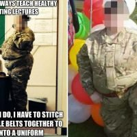 Furious soldiers slam army chiefs after 'taking lessons on healthy eating from obese squaddies'