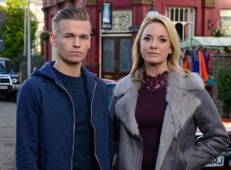 Where have Hunter and Mel Owen been in EastEnders, are they in trouble with the police and does he still have his gun?