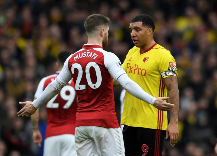 Troy Deeney slams Arsenal as he says they are eight transfer windows behind the best