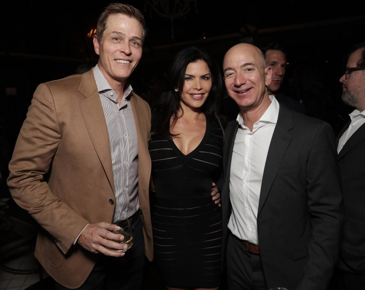 Amazon's Jeff Bezos 'secretly seeing estranged wife of Hollywood mogul' as he heads for biggest divorce in history