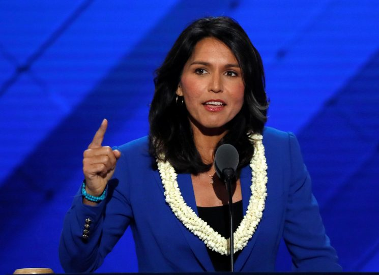 When did Tulsi Gabbard meet with Bashar al-Assad and will she run for President in 2020?