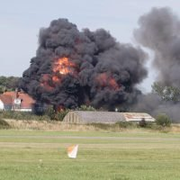 Vintage plane in Shoreham Airshow crash that killed 11 people 'was in very good condition'