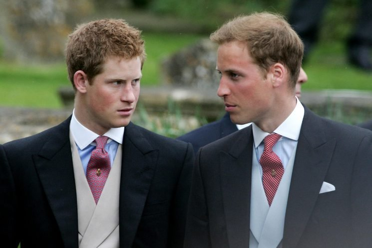 Harry and William 'barely spoke' to one another following 'serious rift' over their boozing as teens, royal biographer claims
