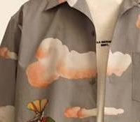 Stella McCartney's new men's range inspired by Beatles film Yellow Submarine includes a shirt with a penis-shaped cloud on the front