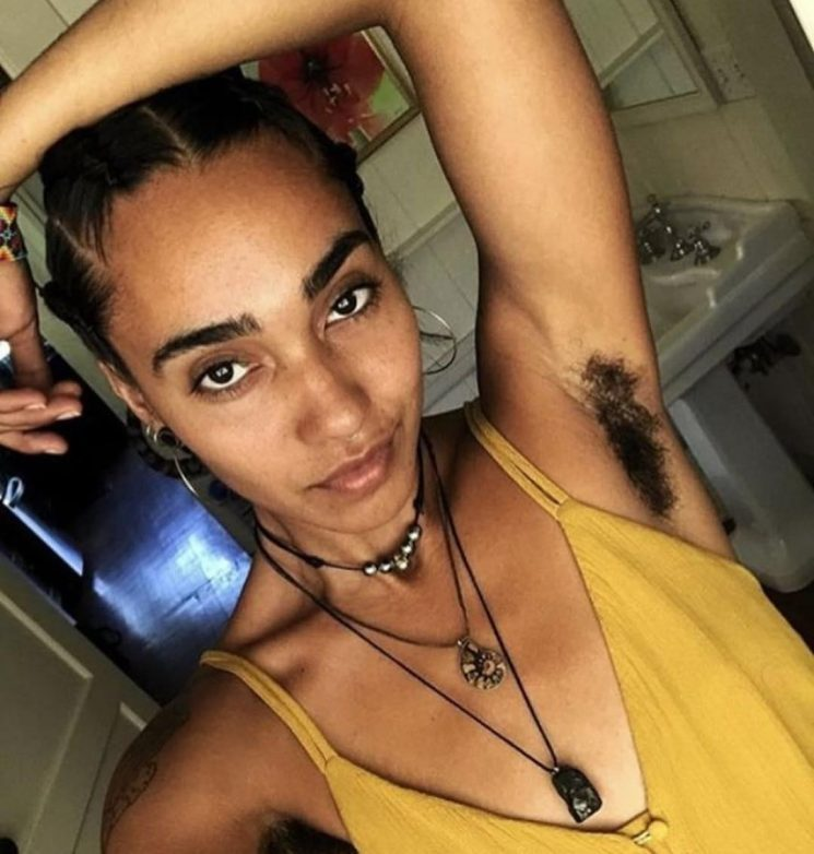 Women embracing #Januhairy proudly show off their armpit, leg and pubic hair after ditching the razor for 21 days straight