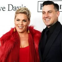 Pink and Carey Hart's Family of 4 Rides a Dirt Bike Without Helmets: Pic