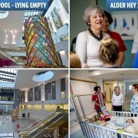 Brand new £500m NHS hospital lies empty just 3 miles from where Theresa May launched her NHS plan