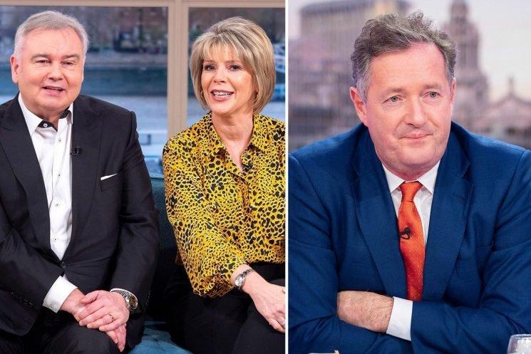 Ruth Langsford hits out at jealous Piers Morgan after This Morning beats Good Morning Britain at the NTAs – The Sun