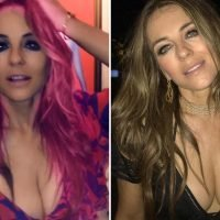 Elizabeth Hurley, 53, unrecognisable with youthful pink hair as she unveils dramatic transformation