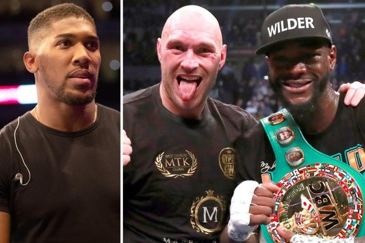 Deontay Wilder snubs Anthony Joshua as he eyes Tyson Fury rematch