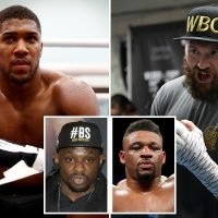 Anthony Joshua to decide next opponent this weekend as Fury, Whyte and Miller talks continue