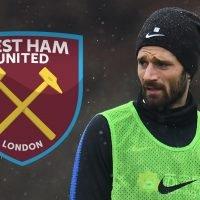 West Ham reignite interest in £10m Inter and Italy winger Antonio Candreva