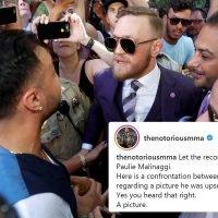 McGregor launches X-rated rant at 'broke b****es' Malignaggi and Khabib
