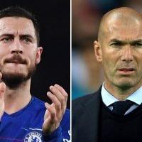 Eden Hazard insists he will not make Man Utd transfer even if hero Zidane joins