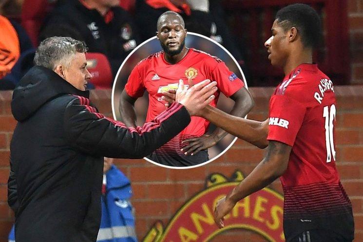 Marcus Rashford told he is above Romelu Lukaku as Man Utd's No1 striker