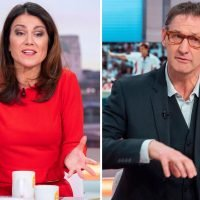 Tony Adams wrongly accused of sexism after viewers think he commented on Susanna Reid's 'red pants' on Good Morning Britain