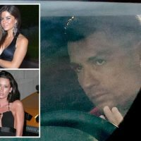 Glum Cristiano Ronaldo pictured arriving for training after a revenge porn claim and request for DNA in LA rape case
